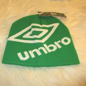 Umbro logo beanie hat  NWT  4 for  $20